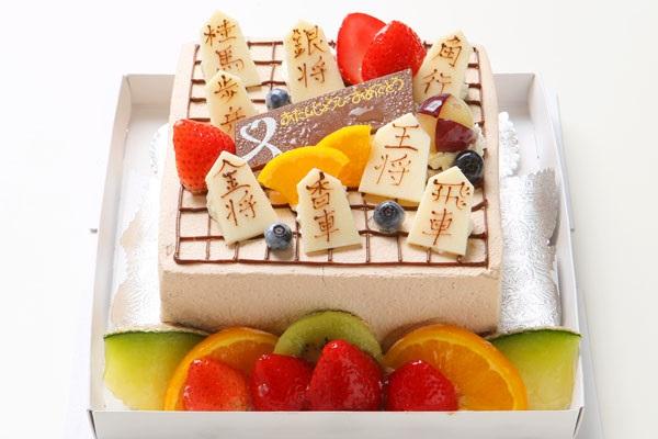 お父さんの誕生日ケーキ