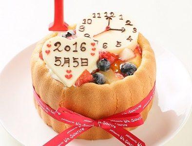 ネット通販で!乳児も食べられる超可愛い1歳の誕生日ケーキ3選