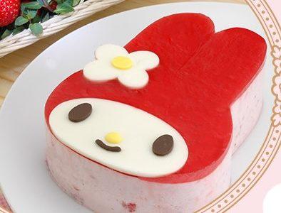 マイメロディケーキをネット注文するならコレ!可愛すぎて食べられない!