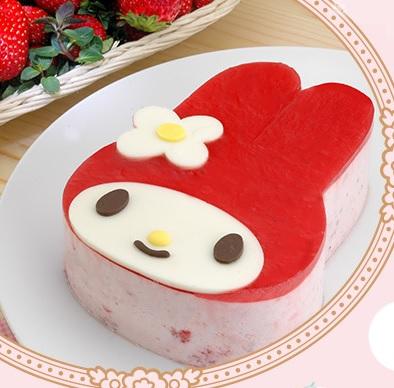 マイメロディケーキ