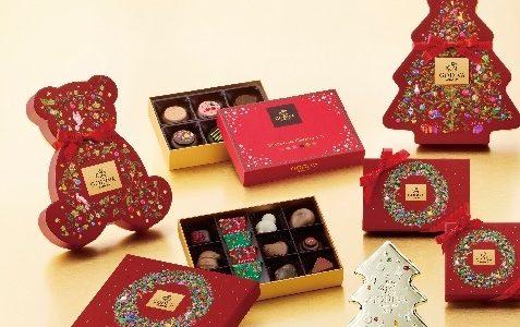 可愛すぎる!GODIVAクリスマスコレクション限定チョコレートの中身は?